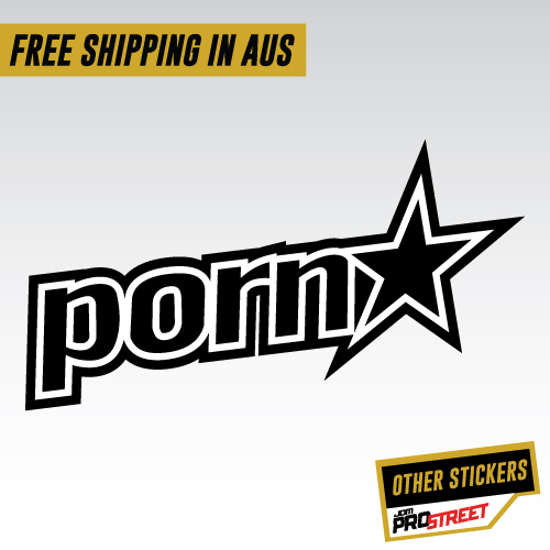 Pornstar Jdm Car Sticker Decal Jdm Prostreet