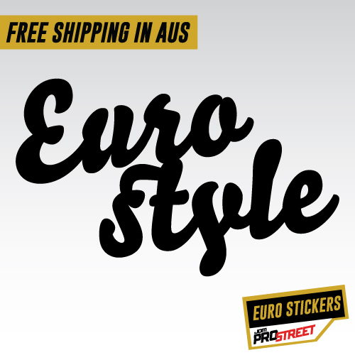 Eurostyle Jdm Car Sticker Decal Jdm Prostreet