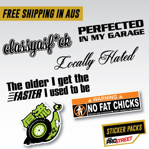 Classy sticker pack jdm car sticker