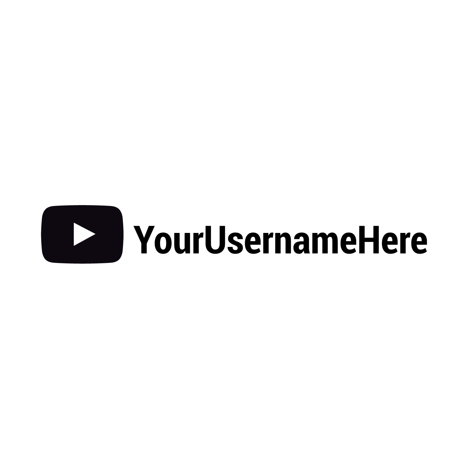 Custom youtube name personalised car sticker decal jdm prostreet