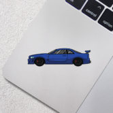0878-Nissan-Skyline-GTR-R34-Blue-80×22-Mock-Up-2