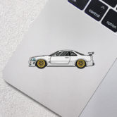 0878-Nissan-Skyline-GTR-R34-White-80×22-Mock-Up-2