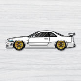 0878-Nissan-Skyline-GTR-R34-White-80×22-Mock-Up-5