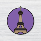 0880-Paris-Eiffel-Tower-Travel-Sticker-80×83-Mock-Up-5